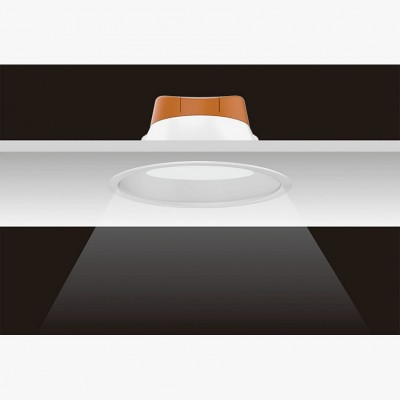 Downlight LED 12W Encastrable DLOL-13 Plafonnier LED Encastrable Rond