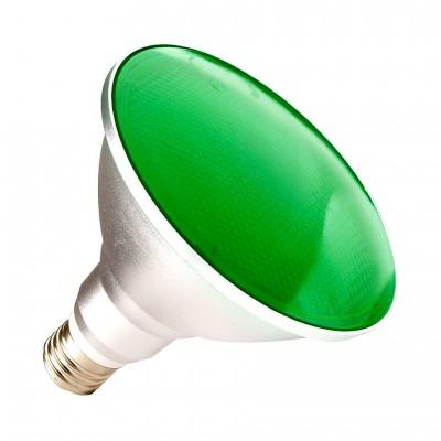 Ampoule LED E27 PAR38 15W IP65 Lumière vert LMPR-273865-15-V E27 Par38 / Par30 / Par56