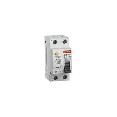 Interrupteur différentiel Résidentiel 1P+N-30mA-Clase AC-6kA : SGBLC0030 Interrupteur puissance