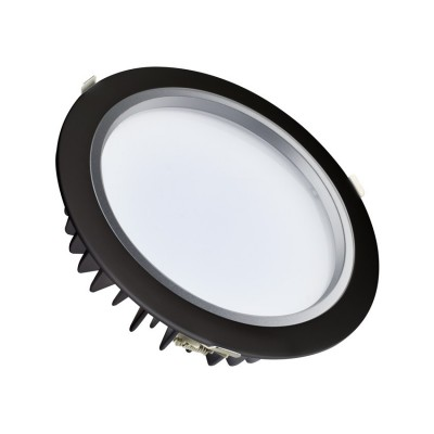 Downlight LED Samsung 25W Noir DT8C-HV-25-N Dalle LED ronde