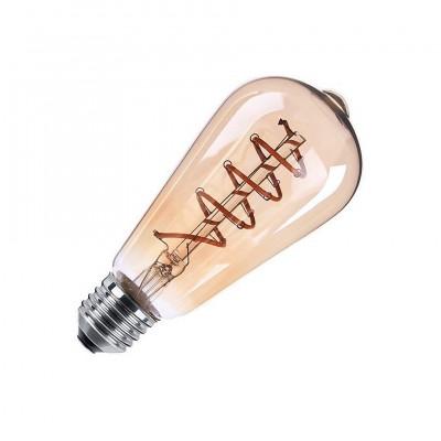 Ampoule LED E27 Dimmable Filament Gold Tear ST64 4W B-REG-FIL-GTR-ST64-4 Ampoule Design