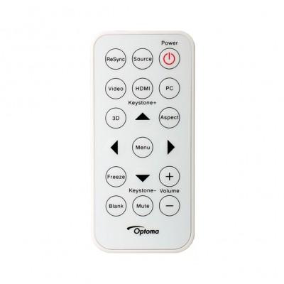 Telecommande OPTOMA W307USTi 45.8UP01G001 Télécommandes OPTOMA
