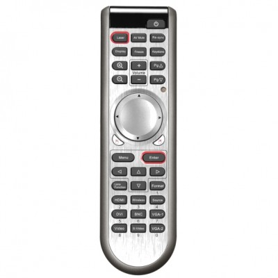 Telecommande OPTOMA EX785/EW775 DE.5041820300 Télécommandes OPTOMA
