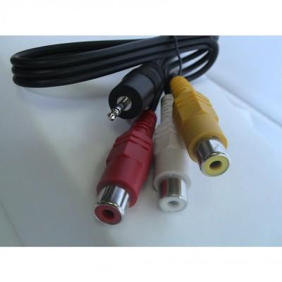 Câble 3RCA Fem/Mini Jack PK301/PK320/PK201 PK301/PK320/PK201/PK120 Accessoires Optoma