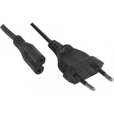 Câble secteur bipolaire noir808310  Câble