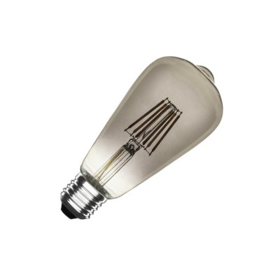 Ampoule LED E27 Dimmable Filament Smoke Lemon ST58 5.5W BE27-RGLB-SMK-LMN-ST58-55 Ampoule Design