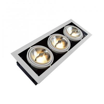 Spot LED Cree COB Orientable AR111 45W Dimmable FCLC-DTNLAR111-R3X15 Spot LED Carré encastrable