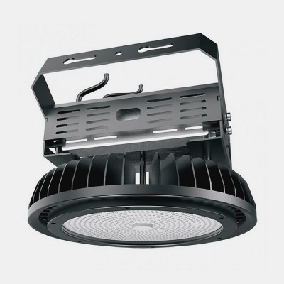 Cloche LED UFO 500W 130lm/W Mean Well HLG Dimmable UFO-130MNWR-500 Projecteur 100W et +
