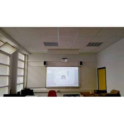Installation videoprojecteur  salle de classe