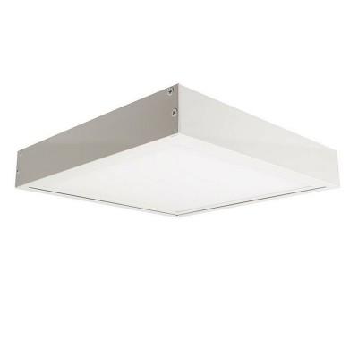 Panneau LED Slim 60x60cm 40W 3200lm + Kit en saillie. PNL-6060403200-KS