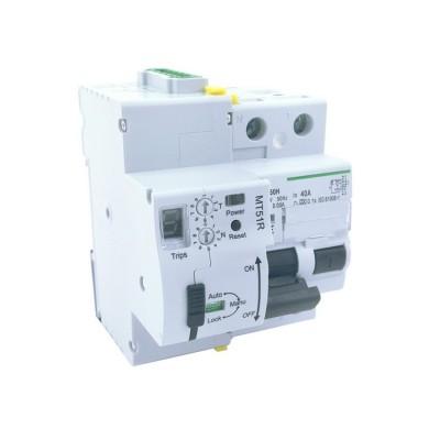 Interrupteur différentiel réarmable 2P-63A-30mA-10kA SIDRA2A63030 Interrupteur puissance