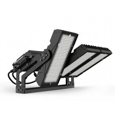 Projecteur LED PLI 7 600W 900W Projecteur LED stade de foot.Projecteur LED autoroute, projecteur led stade