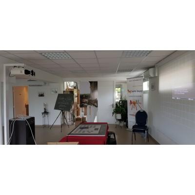 support videoprojecteur sans faire de trou  Installation vidéoprojecteur