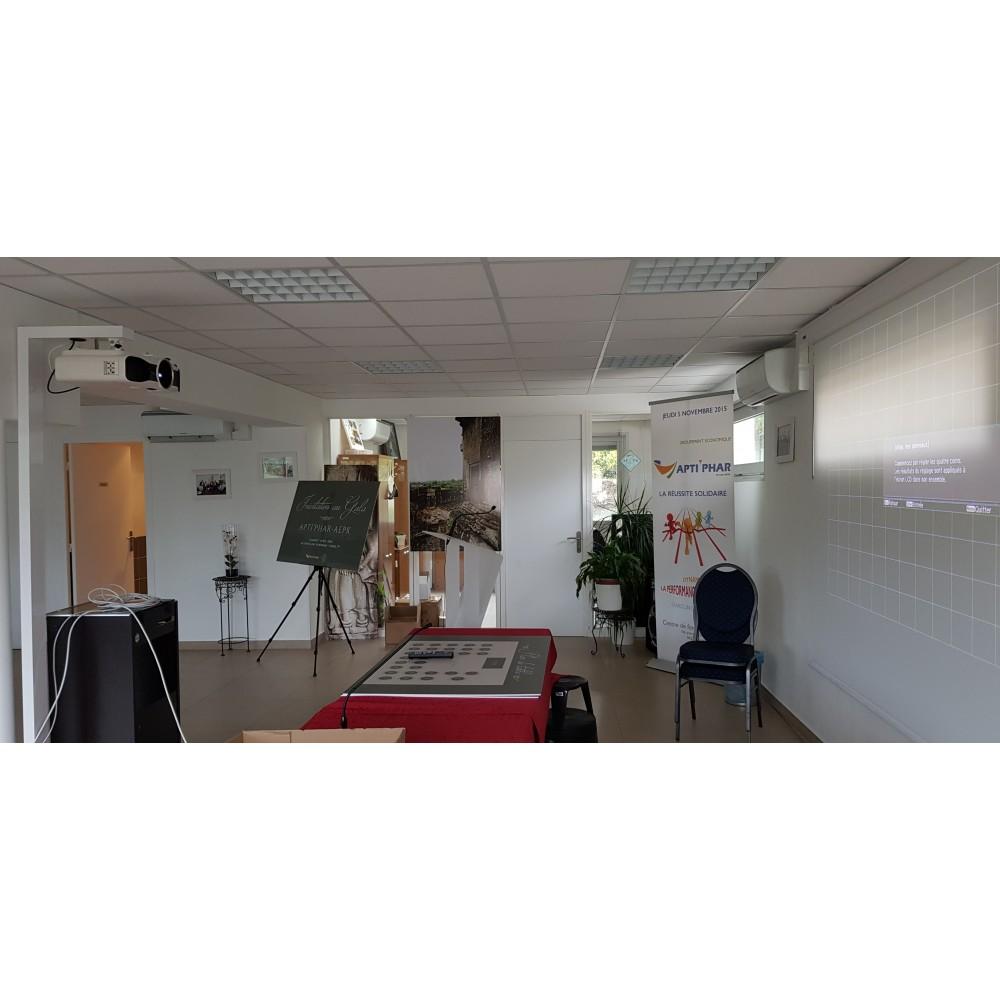Accroche Mur Sans Trou support videoprojecteur sans faire de trou