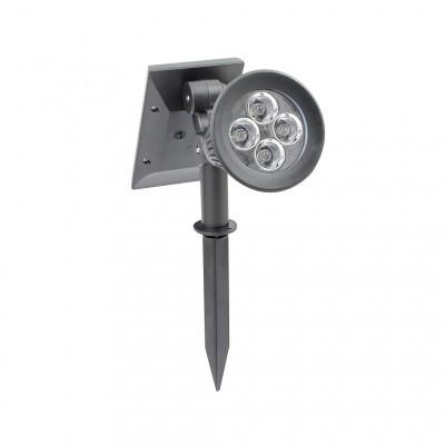 Spot LED Solaire sur Piquet avec Détecteur Mouvement 0 à 100% FC-SLR-PNCH-SEG Eclairage Solaire led