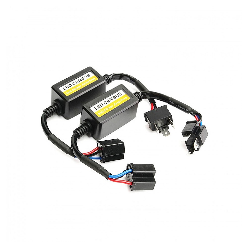 KIT d'adaptateur Can Bus d'Ampoules LED H7 pour voiture ou moto .CNBS-H7 Eclairage led voiture et moto