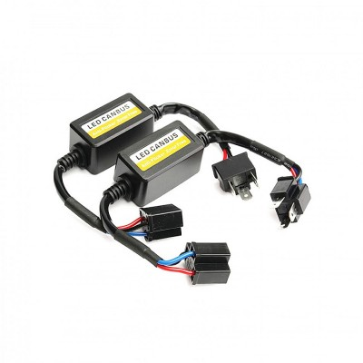 KIT d'adaptateur Can Bus d'Ampoules LED H4 pour voiture ou moto Réf : CNBS-H4 Eclairage led voiture et moto