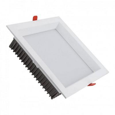 Downlight LED SAMSUNG 120lm/W Carré 30W (UGR19) Réf : DW-SMS-SQ-30 Plafonniers LED Encastrable Carré