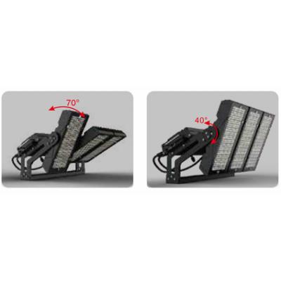 Projecteur LED PLI 7 600W 900W Projecteur LED stade de foot.Projecteur LED autoroute
