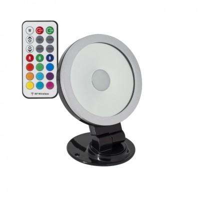 Projecteur LED Orientable 360º RGB 20W Noir FPL-DIR360-RGB-20N Projecteur Orientable