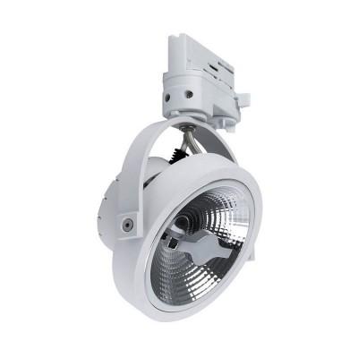 Spot LED Cree AR111 15W Dimmable Blanc pour Rail Triphasé, rotation 360 °