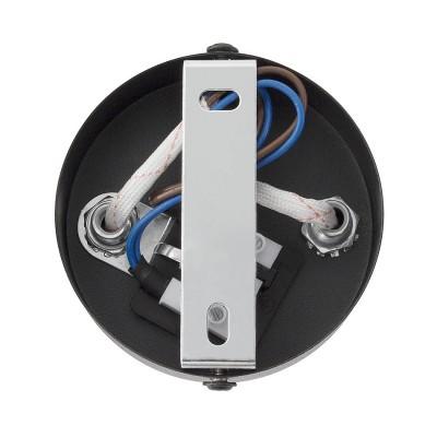 Lampe de Plafond Orientable Sinner 2 Spots Noir . FO-S2XN-GU10 . spot led orientable