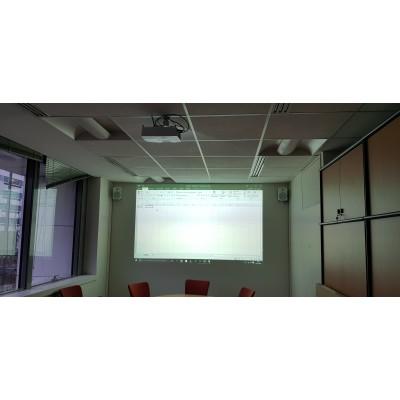 Installation de vidéoprojecteur  à Paris . installateur audiovisuel salle de classe