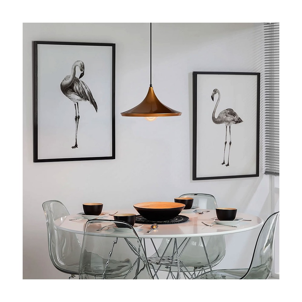 lampe suspendue presley lampes suspendue design. Black Bedroom Furniture Sets. Home Design Ideas