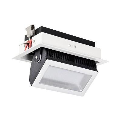 Projecteur LED Samsung 120lm/W Orientable 140° Rectangulaire 38W