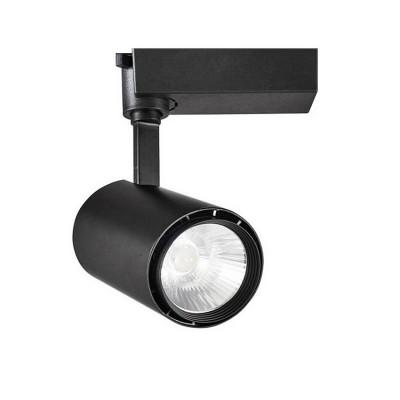 Spot LED Mallet 30W Noir pour Rail Triphasé FLML-N-CT-30 Spot LED rail Triphasé