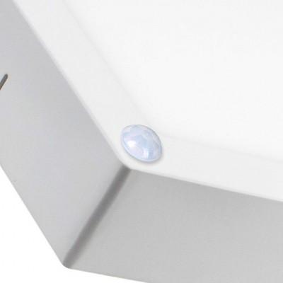 Plafonnier LED Carré avec capteur PIR 18W PL-CU-PIR-18 Plafonnier LED Détecteur mouvement