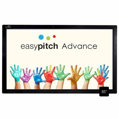 Ecran tactile EASYPITCH interactif 65'' 4K Advance . LE-65PC53 (4K) . LE-65PC74 (4K)PRO . LE-75PC53 (4K)