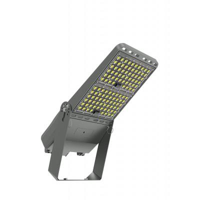 Projecteur LED Pro Asymétrique Luxeon 200W 160 lm/W Mean Well ELG Dimmable avec Support