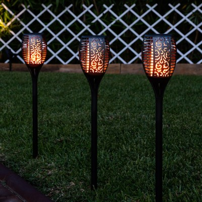 Flamme torche led, ANT-LSLLP, flamitorch,lampe solaire,lampe solaire,eclairage jardin,
