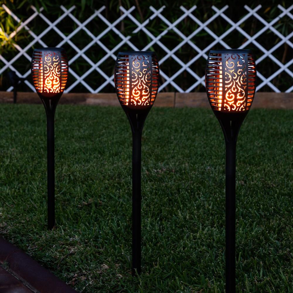 Lampe solaire LED lampe solaire jardin lumière Lampe de jardin lampe solaire éclairage