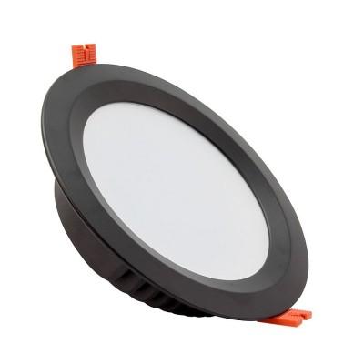 Downlight LED SAMSUNG 120lm/W Aéro 30W Noir LIFUD.PLAD-30- AN,plafonnier led rond