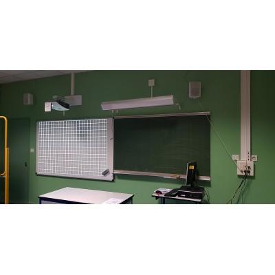 installer un videoprojecteur salle de classe, reunion, audiovisuel,