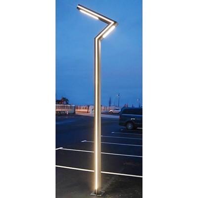 3701124417626, Lampadaire Eclairage Public Voie Piéton LED 50W 4000°K 4m Gris Anthracite