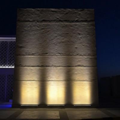 Linéaire LED Wallwasher 1000mm 18W IP65 High Efficiency , BNDR-LNL-18W-10M-HE , barre lineaire monument historique