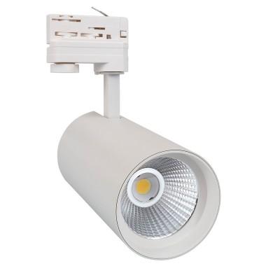 Spot LED New d'Angelo 30W Blanc CCT LIFUD pour Rail Triphasé, FC-BRTHA-30-BLNC-CT,spot cct lifud,