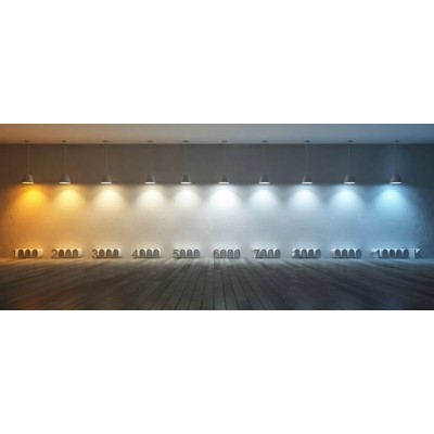 Barre Linéaire LED Triphasée Trunking 600mm 24W 150lm/W Dimmable,BRR-TRNK-24-10RGL