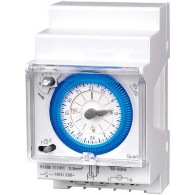 Horloge Journalière Analogique,TMPRZDR-A-24