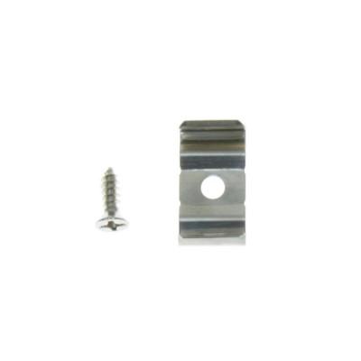 Clip de Fixation Métallique 180° pour Profilé Aretha,GMF-180-ATH