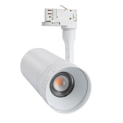 Spot LED Multi-Angle Citizen Argos 20W Blanc pour Rail Triphasé (CRI 92) True Color Dimmable 1-10V,BJ-TRARGS-20W-CIT