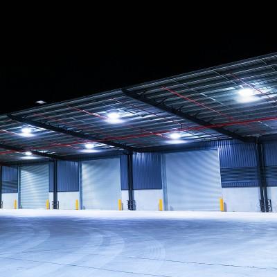 Cloche LED UFO Slim 100W 120lm/W , C-UFO-OC-SMS-100 , eclairage industrielle, cloche led pas chère