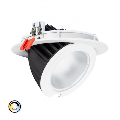Projecteur LED SAMSUNG 125lm/W Orientable Rond 48W CCT Sélectionnable LIFUD Dimmable,FC-PRY-SNG-DR-C-48-RG-CCT