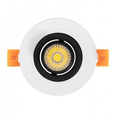 Spot Downlight LED COB Orientable 360º Rond 7W Design Coupe Ø 70mm,FC-DWNL-C7WB