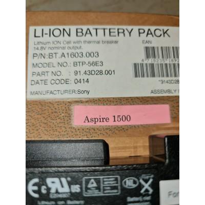 batterie acer aspire 1500,BT.A1603.003, BT.A1604.002 , BTP-55E3 ,BTP-56E3,