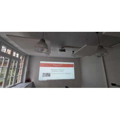Intégrateur audiovisuel Paris ile de France,installation vidéoprojecteur, audiovisul,salle de classe,reunion
