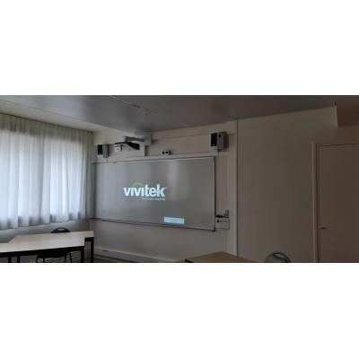 Installation vidéoprojecteur Vivitek classe école,  vidéoprojecteur interactif,salle de classe,